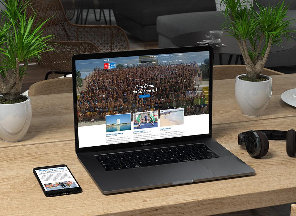 Il sito responsive realizzato da Stdio Réclame visto da diversi dispositivi