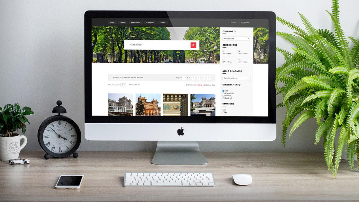 Portale fotografico del sito Photos Visitasalsomaggiore on line su PC